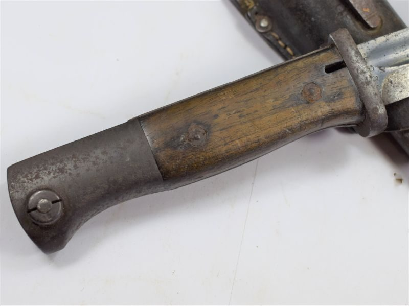55 Original Early WW2 1935 German K98 Bayonet with Matching Numbers S/155 G