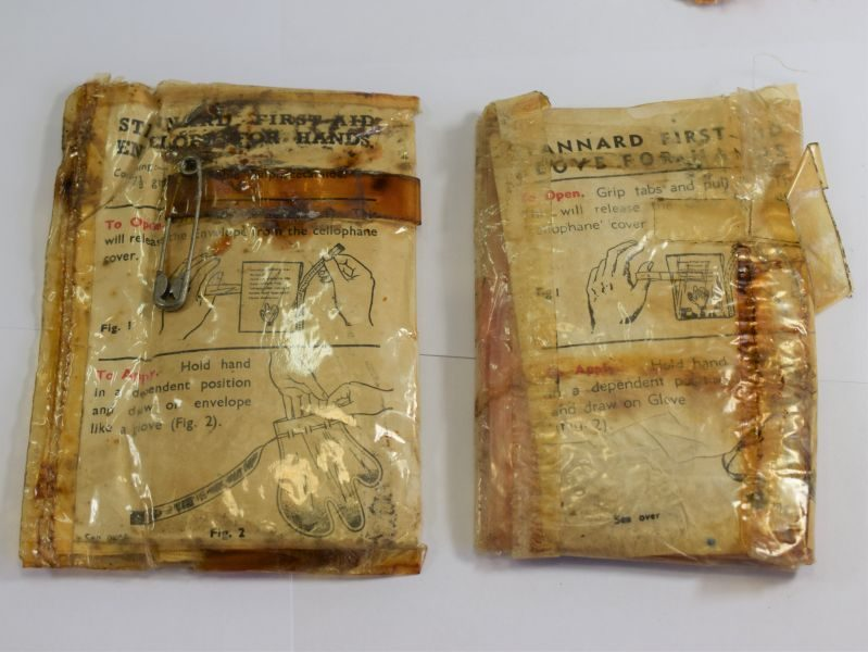 Original WW2 RAF First Aid Outfit For Air Crews MKIII & Part Contents