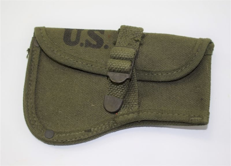 Mint Unissued Original WW2 US Army Hand Axe Head Cover 1942