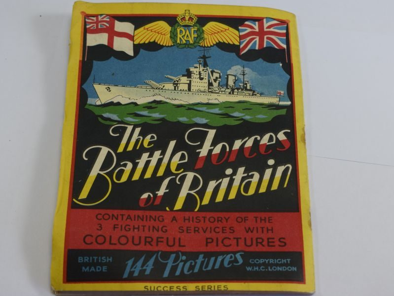 Interesting WW2 Booklet The Battle Forces of Britain The 3 Fighting Services
