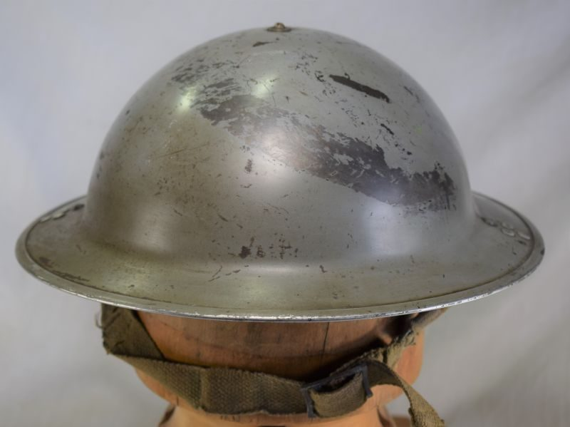 WW2 British RAF & Home front Issue Steel Helmet & Liner. 1940