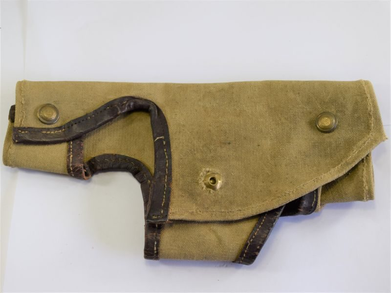 Original WW2 Indian Made Thompson SMG Breech Cover