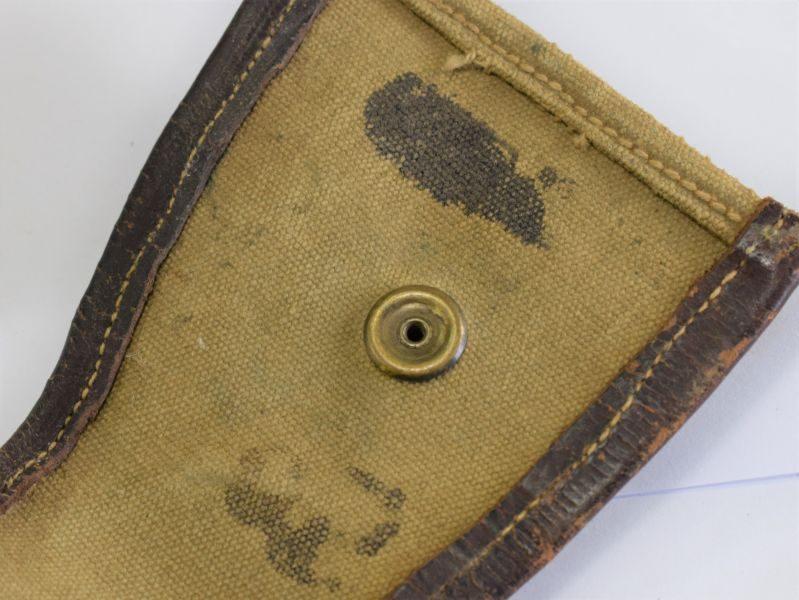 Original WW2 Indian Made Thompson SMG Breech Cover