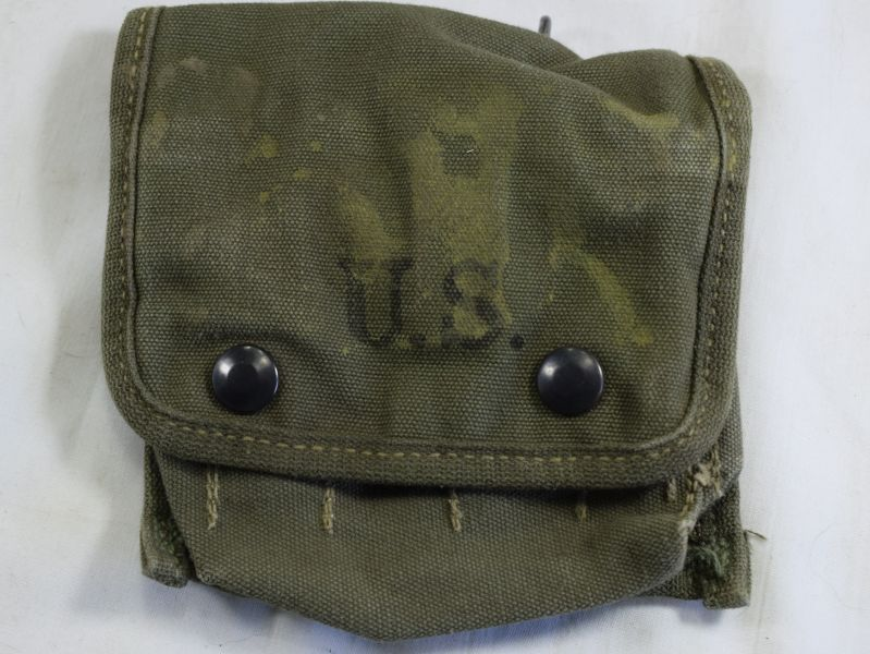 Original WW2 US Army Jungle First Aid Kit Pouch Dated 1944