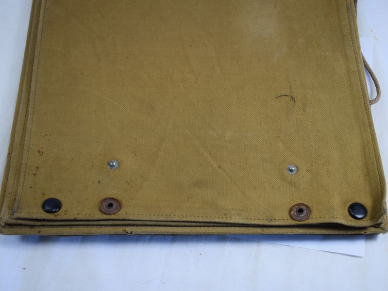 WW1 WW2 British Army Officers Large Map Case, Named 2/LT A H Wyllie R A