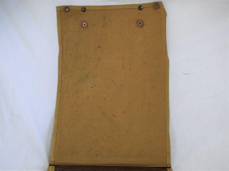 WW1 WW2 British Army Officers Large Map Case, Named 2/LT A.H.Wyllie R.A.