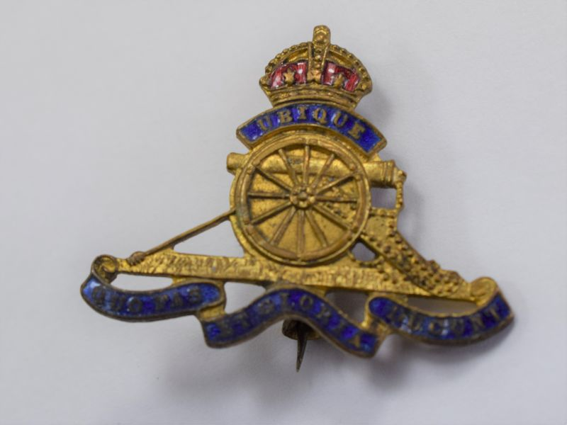 4 Original WW1 WW2 Royal Artillery Sweetheart Brooch