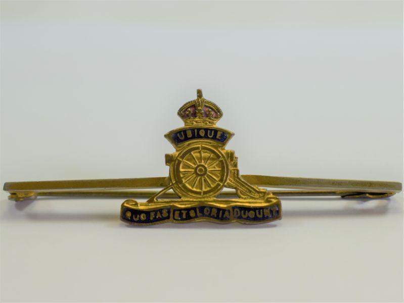 10 Original WW1 WW2 Royal Artillery Sweetheart Brooch