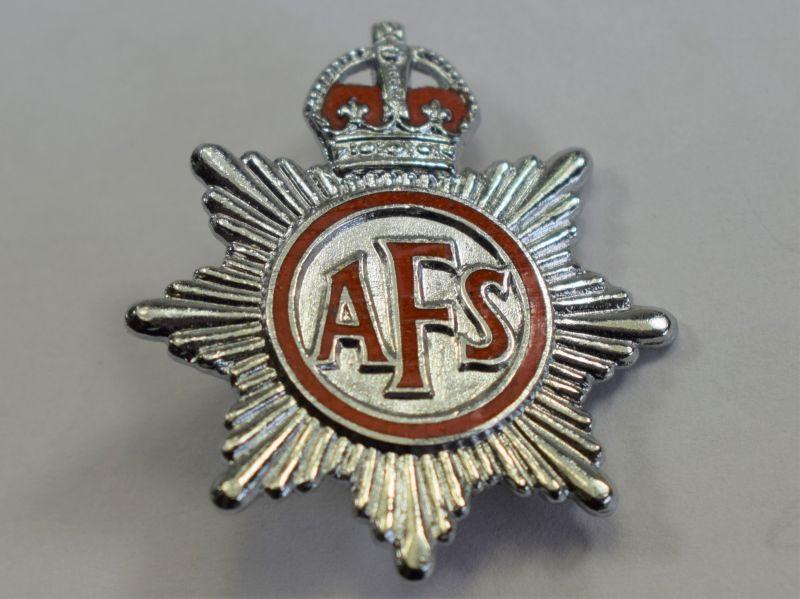 17 Original WW2 AFS Pin Back Lapel Badge
