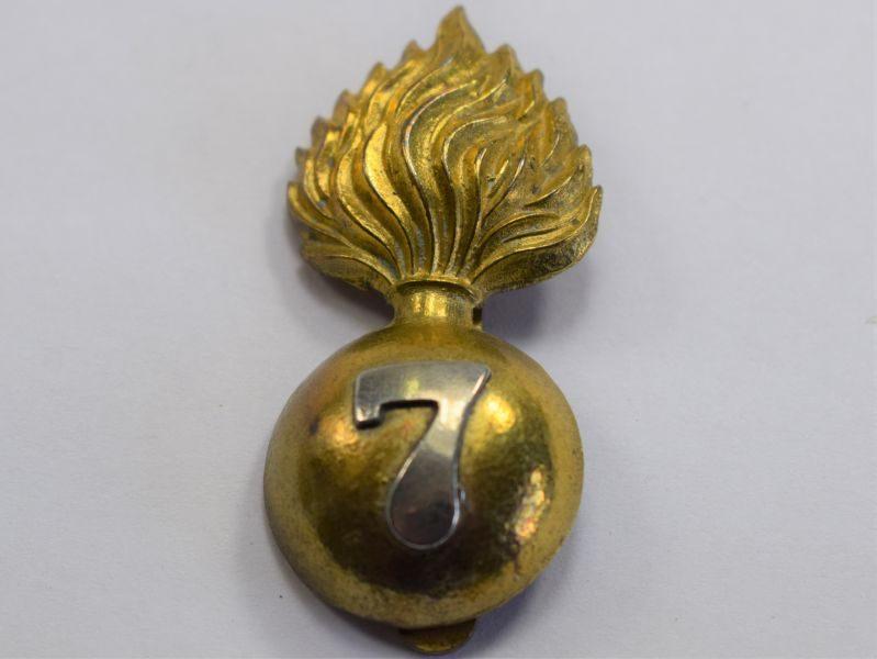 25 Original Canadian Militia 7th Regiment Fusiliers Cap Badge