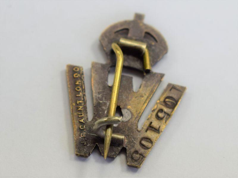 35 An Original WW1 Volunteer Worker Brass Pin Badge
