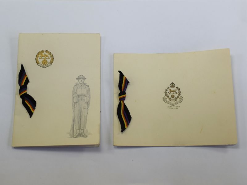WW2 Hampshire Regiment Christmas Cards