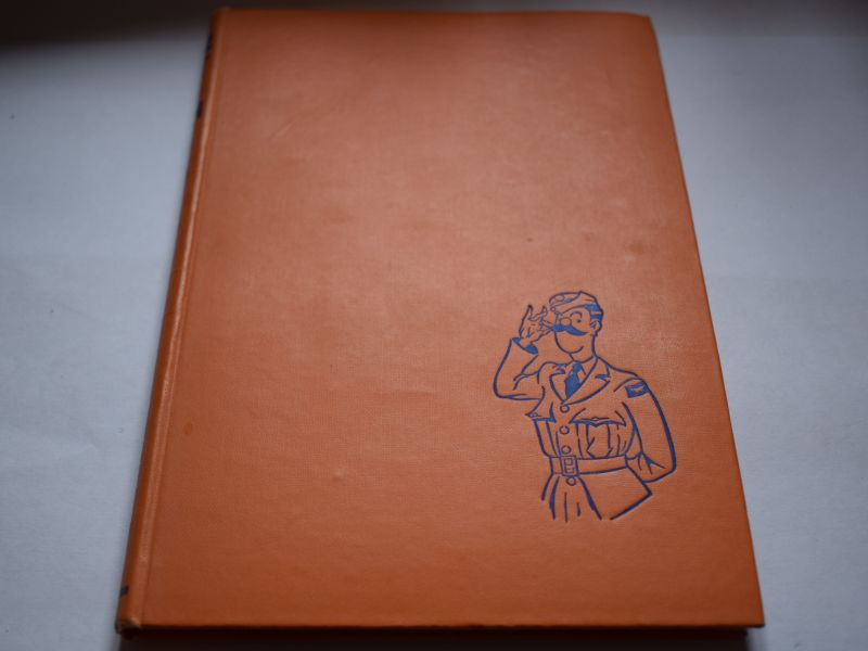 66 Original 1943 Dated RAF Comical Hardback Book Nice Types