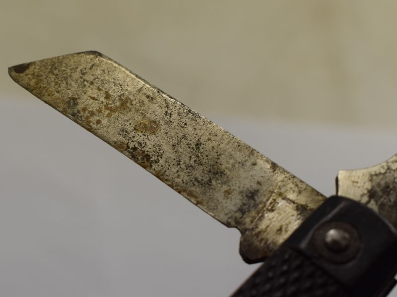 WW2 British Army Issue Jack Knife Dated 1944.