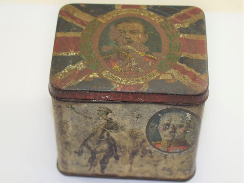 Original WW1 British Commemorative Tin