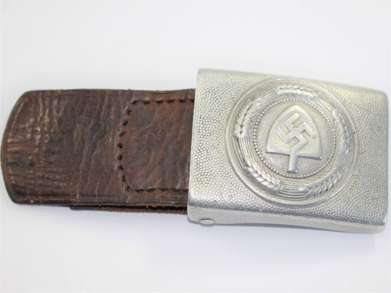 Excellent Original WW2 German RAD Mans Waist Belt Buckle Dated 1936