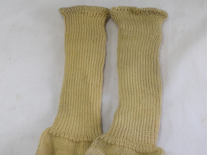 Original Matching Ww2 Rn Amp Raf Issue Sea Boot Socks 1942