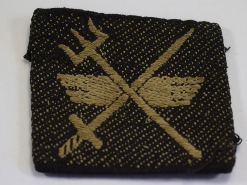 10 Original WW2 33 Indian Corps Cloth Badge Formation Sign