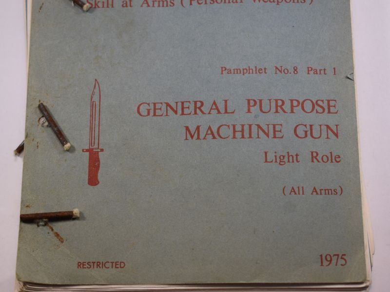 AD Clean 1985 Infantry Training Volume II Skill At Arms No8 Part I General Purpose Machine Gun