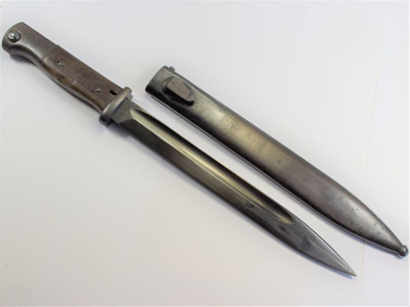 Original Early WW2 German K98 Bayonet & Scabbard 1938