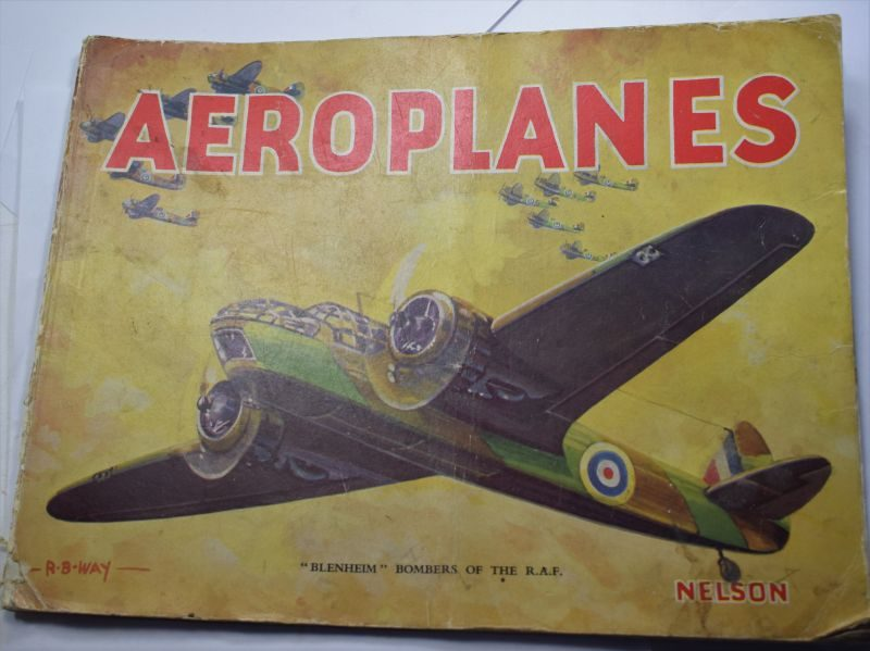 VV Large Colourful WW2 Picture Book of RAF Aircraft