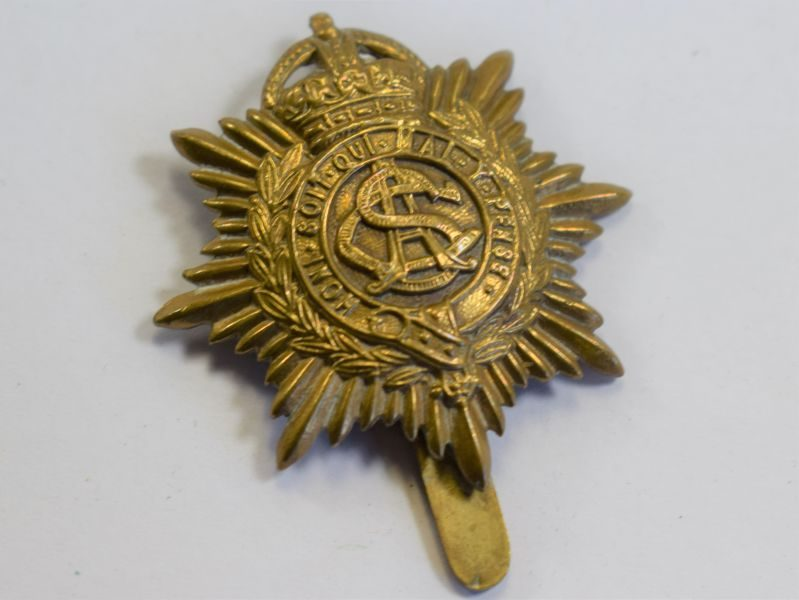 34 An Original WW1 Economy Cap Badge The Army Service Corps