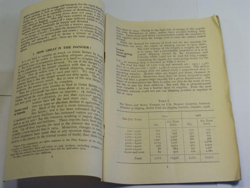 47 Original Air Raid Defence Publication No5 Food In War Time July 1939.