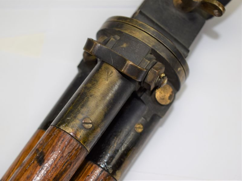 Excellent Original WW1 British Snipers Scope Tripod Dated 1915