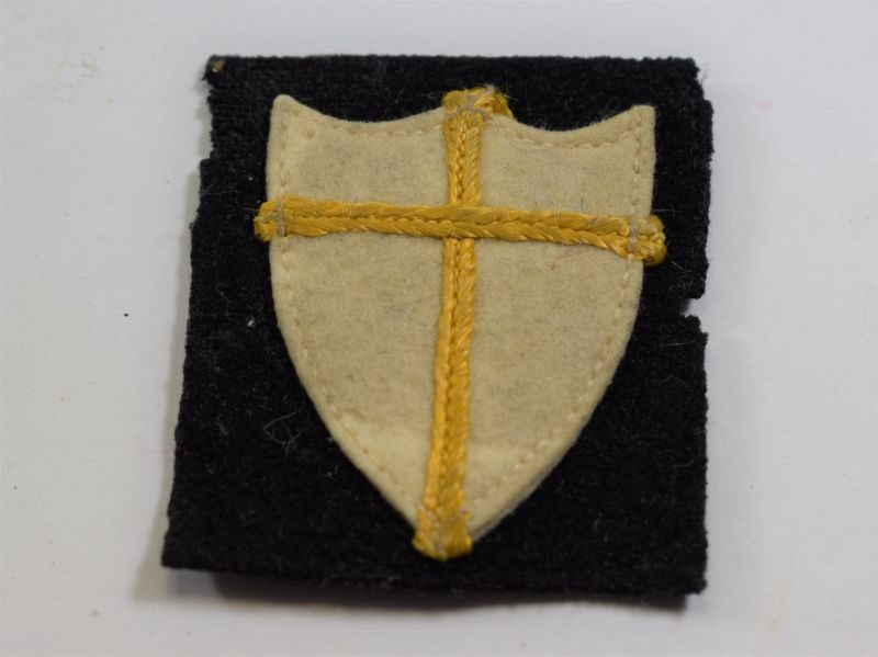 75 Original WW2 British 8th Army Cloth Badge