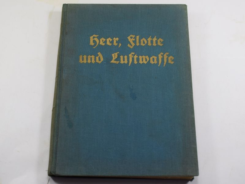 Early Nazi Book Heer,Flotte und Luftwaffe 1936