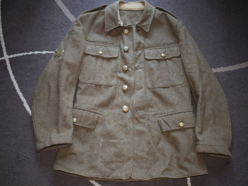 Y British Army 1922 Pattern SD Jacket Economy Pattern 1943