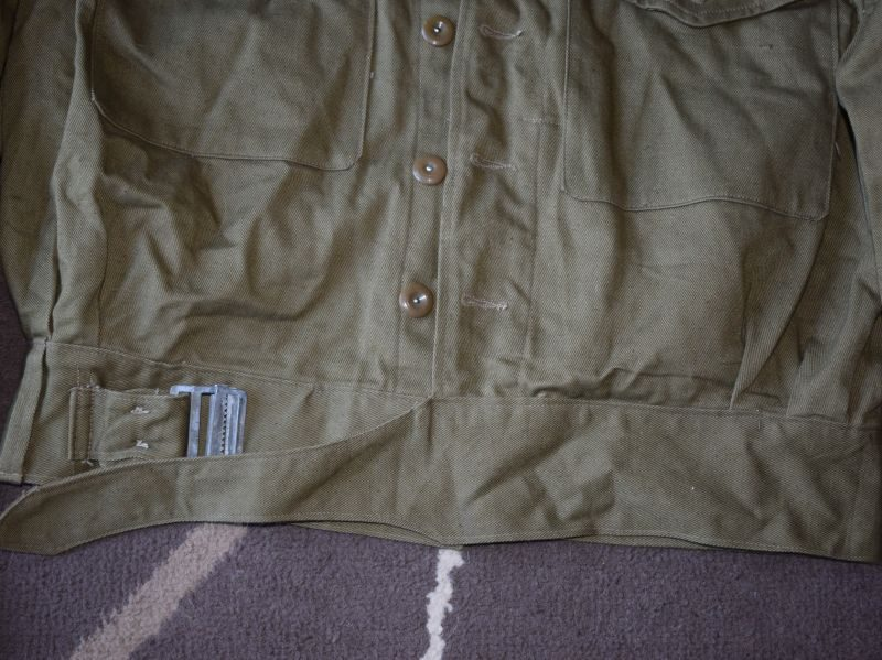 Excellent Unissued British Army & Home Guard Denim Overalls Blouses Drill No4 1944