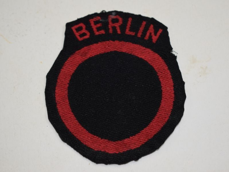 34 Original Post WW2 British Troops Berlin Occupation Cloth Badge