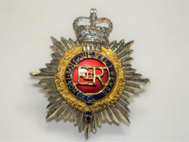 52 Post WW2 British RTC Officers Cap Badge