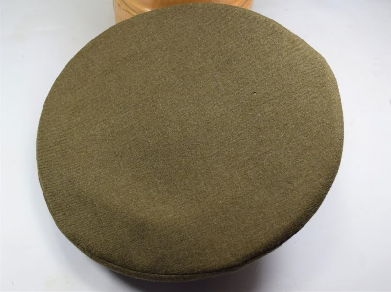 Large Size WW2 US Army ORs Peaked Cap, Good Size 7 ¼
