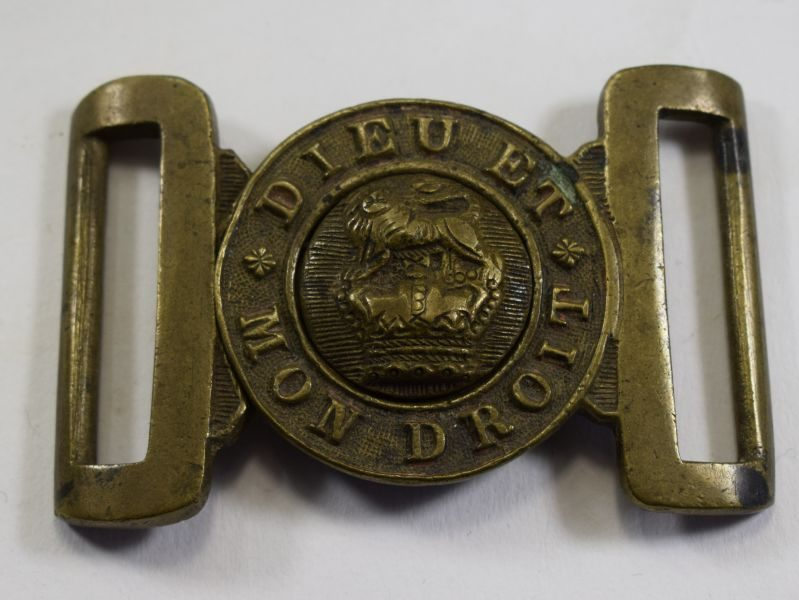 2 Original British Army General Service Belt Buckle Dated 1894