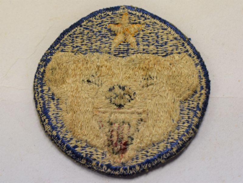 73 Original WW2 US Cloth Badge Alaska Defence