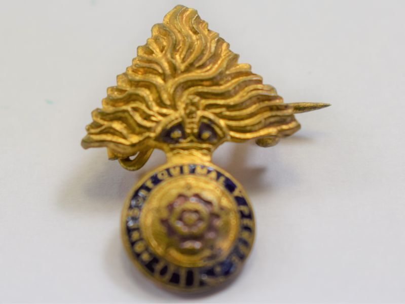17 Lovely Original WW1 WW2 Sweetheart Brooch to The Royal Fusiliers