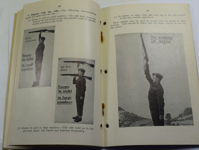 28 Original WW2 Pamphlet Section Leading & Fieldcraft for Cadets