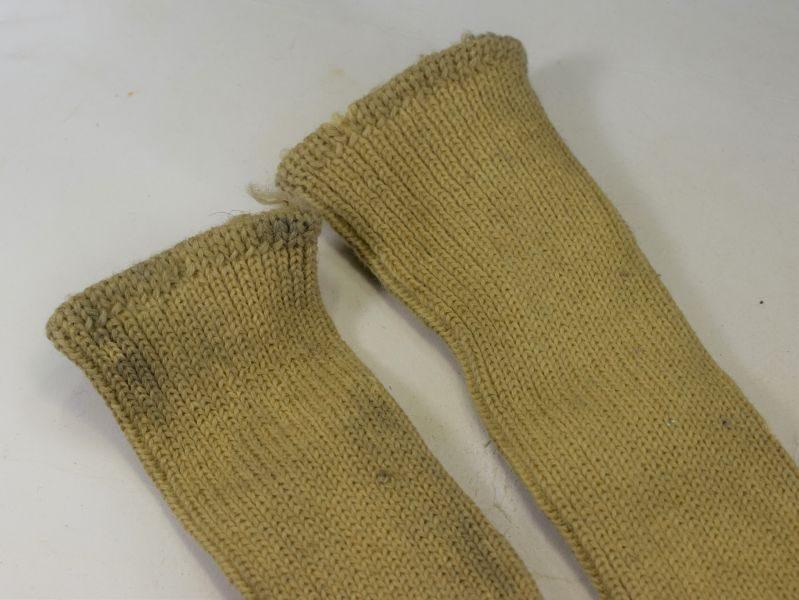 Original Matching WW2 RN & RAF Issue Sea Boot Socks A.Yates & Co 1941