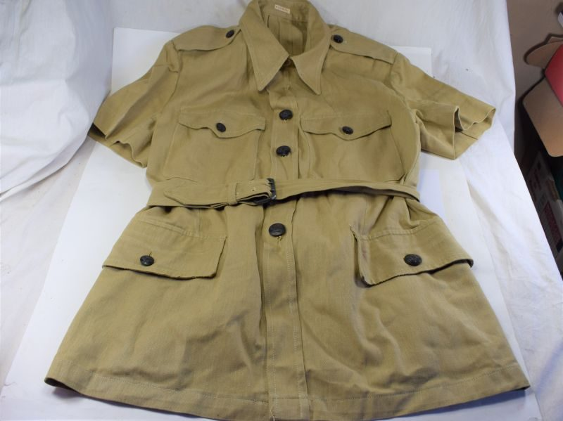 Excellent Clean Original WW2 RAF Tropical Issue Sleeveless Bush Jacket