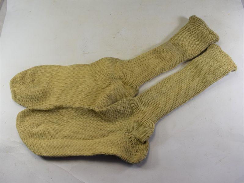 Original Matching WW2 RN & RAF Issue Sea Boot Socks K&W 1942