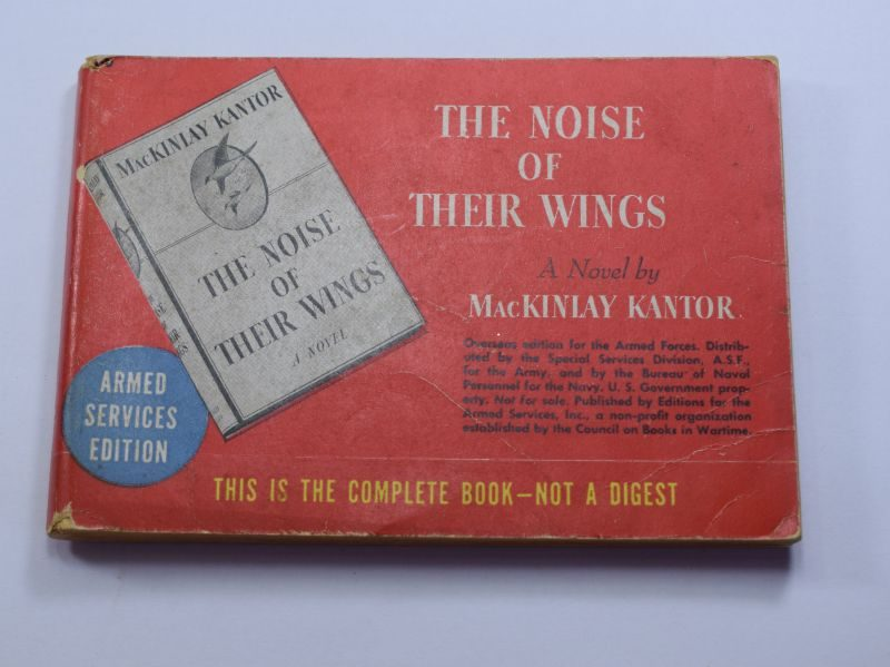 98 WW2 US Armed Forces Edition Book The Noise of Their Wings 1938