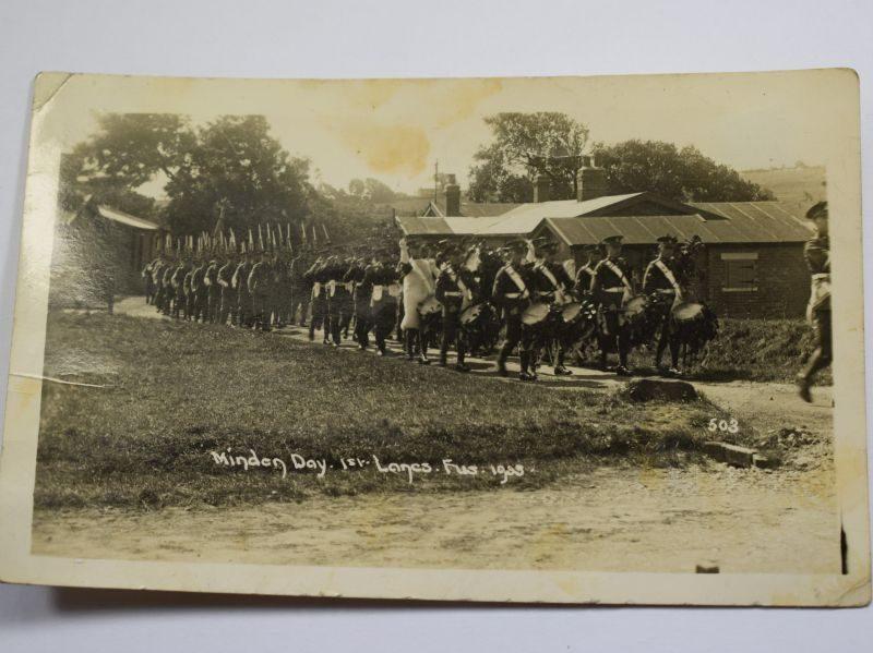 77 Original Photograph Minden Day 1st Lancashire Fusiliers 1935