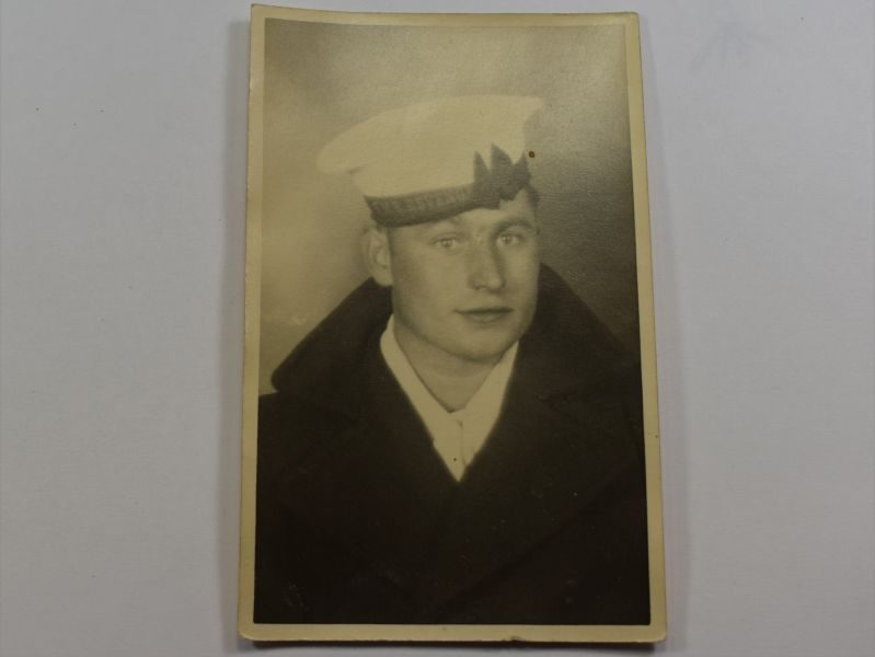 78 Original WW1 WW2 Portrait Photo of Royal Navy Rating HMS Revenge
