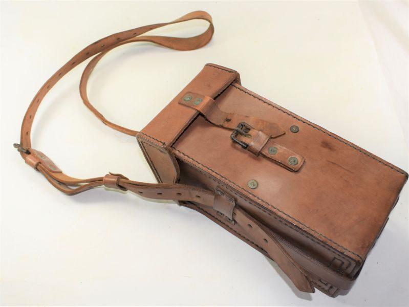 Unidentified WW2 High Quality Leather Case CM3216 BHG 1942