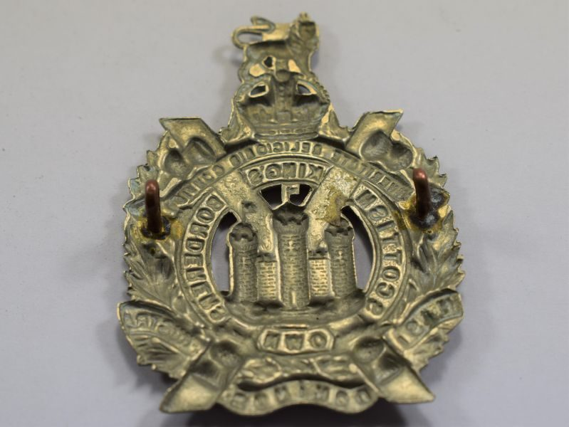 87 Original WW1 WW2 Cap Badge Kings Own Scottish Borderers