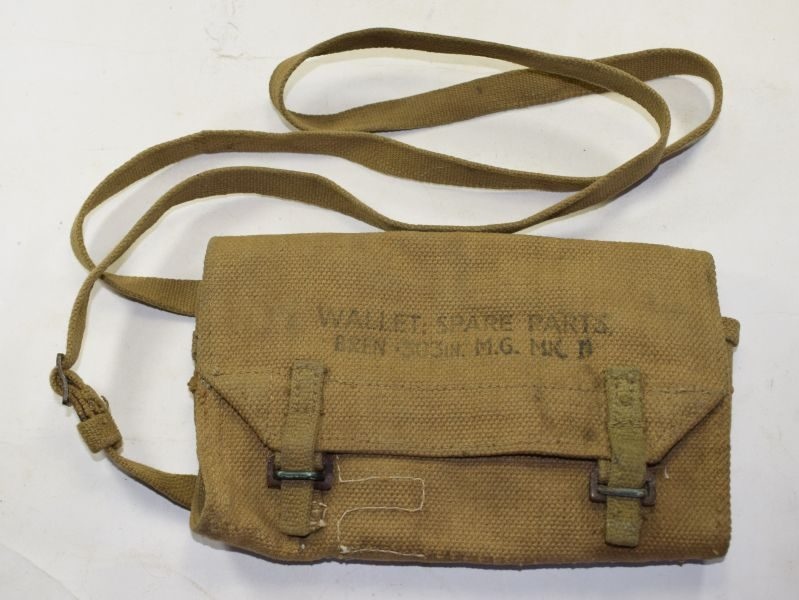 Excellent Original WW2 British Bren MKII Spare Parts Wallet 1945