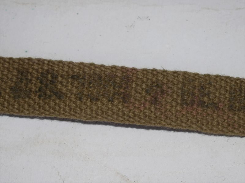 Excellent Original Unissued British Sten Gun Carry Sling Dated 1944
