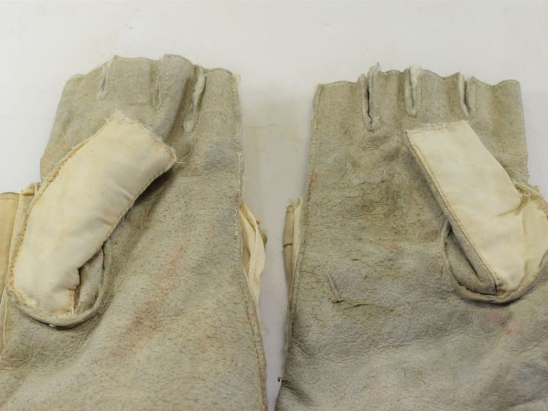 WW2 Pattern ATS Fold Back Mittens Fingerless Gloves 1953